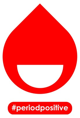 #periodpositive™ smiling blood drop logo - contact for licensing information.